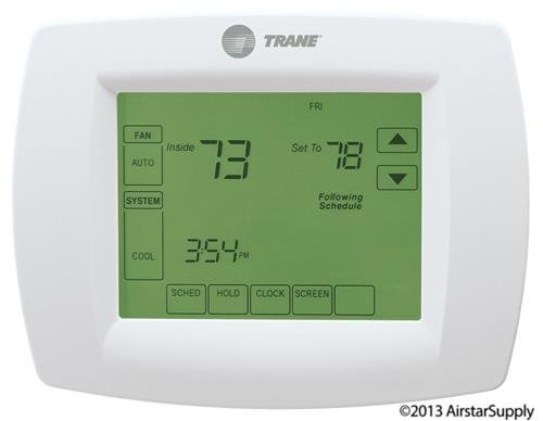 Single-Stage Thermostat 7-Day Programmable Touchscreen Thermostat , TCONT800AS11AAA / TCONT800