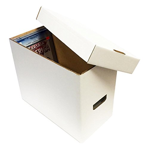 1-graded-comic-storage-box-holds-35-40-graded-comic-books-white-by-max-pro