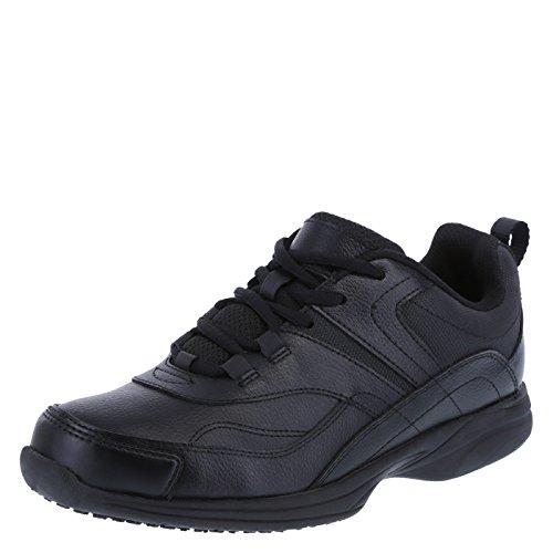 safeTstep Slip Resistant Women's Black Women's Athena Sneaker 6 Wide by safeTstep