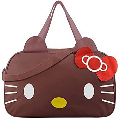 27d6a0d08 Image Unavailable. Image not available for. Color: Mihawk Cute Hello Kitty  Handbag Girl's Women's Travel Messenger Bags ...