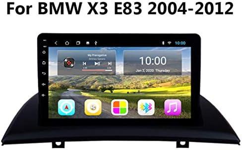 車のGPSナビゲーション、9インチマルチメディアステレオ車DVDプレーヤーBMW X3 E83 2004-2012HD自動タッチスクリーン,Wifi 2g+32g