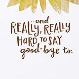 Hallmark Coworker Goodbye Card