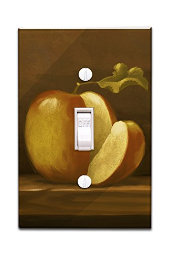 Apple - Oil Painting (Light Switchplate Cover)