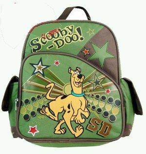 Small Backpack - Scooby Doo Super Star New School Book Bag Boys 377434 B0028LGF3A