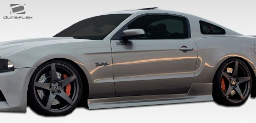 (Duraflex ED-ORK-612 Tjin Edition Side Skirts Rocker Panels - 2 Piece Body Kit - Compatible For Ford Mustang 2005-2014)