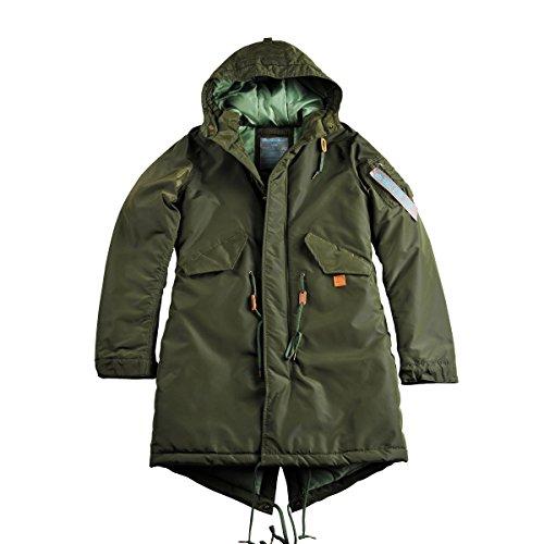 Jacket Cw Tt Fishtail Industries Alpha Dark Wmn Green Women EwIgWB