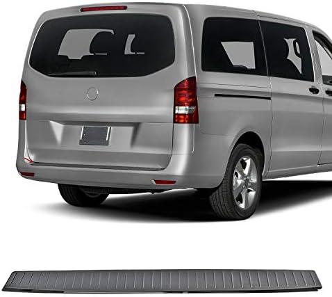 Ladekantenschutz Stoßstangenschutz Für Vito W447 2014 2020 Aus Dark Edelstahl Chrom Auto