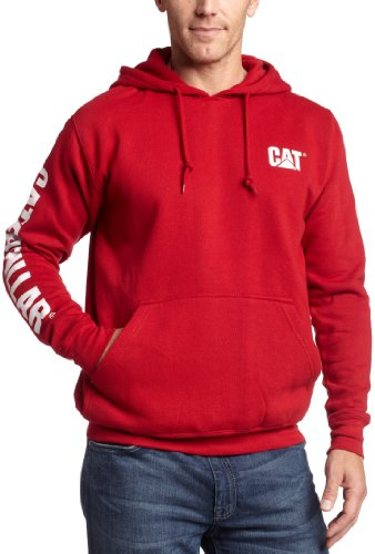 Caterpillar Men's Trademark Banner Hoodie, Chili Pepper, ...