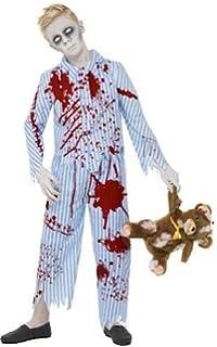 946e103a170561 Smiffy Schlafanzug Jungen Kostüm Kinder Halloween Horror-Design, Blau
