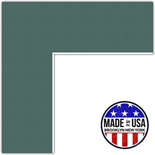 19x19 Celtic / Laurel Custom Mat for Picture Frame with 1...
