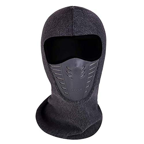 (Ants-Store - Outdoor Winter Warm Bicycle Bike Climbing Skiing Windproof Carbon Filter Face Mask Warm Thermal Fleece Balaclava Head)