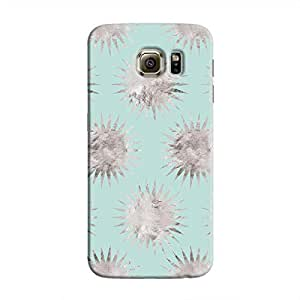 Cover It Up - Silver Blue Star Galaxy S6 Edge Hard Case