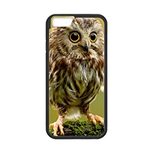 "Fashion iPhone 6 Case Custom Funny Owlet Case for iPhone6 4.7"" (Laser Technology)"