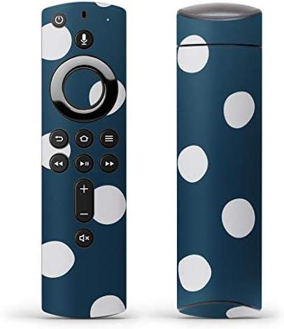 igsticker Fire TV Stick 第2世代 専用 リモコン用 全面 スキンシール フル 背面 側面 正面 ステッカー ケース 保護シール 004380 その他 水玉 ドット 模様