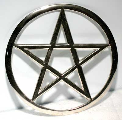 (Large Cut-Out Pentagram altar tile * by AzureGreen)