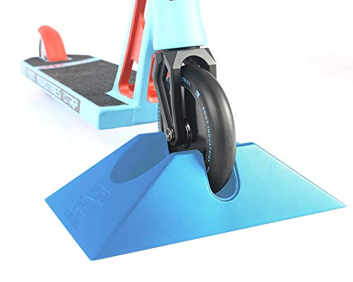 ScootRack - Stunt Scooter Stand - Stable, Lightweight, Universal Stand for Trick Scooters (Blue)