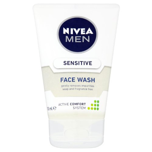 Nivea For Men Sensitive 100 ml Face Wash Pack of 3