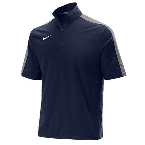 Nike S/S Hot Jacket (Small, Navy/Grey)