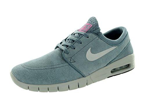 Nike Stefan Janoski Max L Scarpe Da Skateboard Uomo Blue Graphite metallic Silver pink Pow