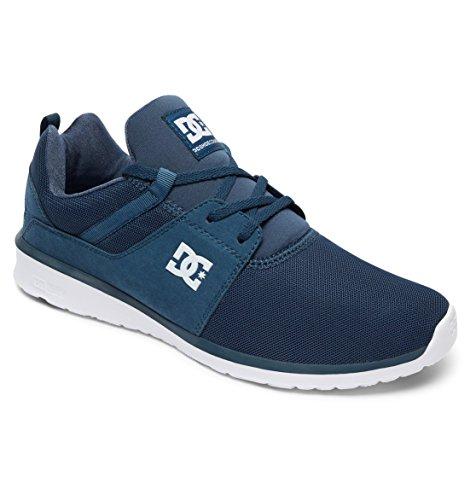 Dark Dc Heathrow Hommes M Basses Shoe Shoes Teal Sneakers Bleu 4agH48x