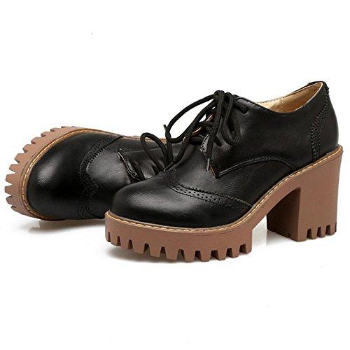 Schnürschuhe Schnürschuhe TAOFFEN Oxford Klassische Oxford Schnürschuhe Oxford Klassische Schwarz Schwarz TAOFFEN Klassische TAOFFEN 1PxwZq