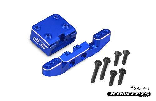 J Concepts Front Camber Link Mount Bulkhead, Blue: B6, B6D