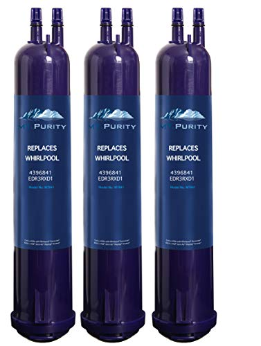 Price comparison product image MT. Purity Water Filter Compatible Kenmore 46-9030, 46-9083,  4396710,  4396841 Water Filter,  Filter 3,  EDR3RXD13 packs