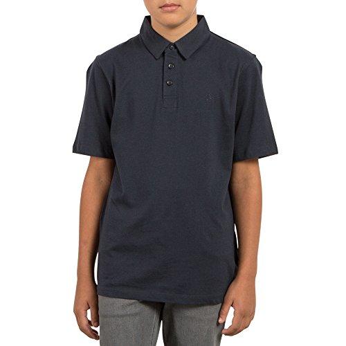 Genuine Shirt Boys (Volcom Big Boys' Wowzer Modern Fit Cotton Polo Navy)