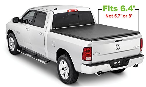 Tonno Pro HF-250 Black Hard Fold Truck Bed Tonneau Cover 2002-2018 Dodge Ram 1500, 2003-2018 Dodge Ram 2500, 3500 | Fits 6.4' Bed (Excludes Beds with RamBox)