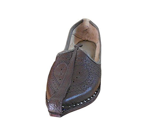 Kalra Marron Indien Traditionnel En Cuir Casual Hommes De Creations Chaussures rPrnqU4w