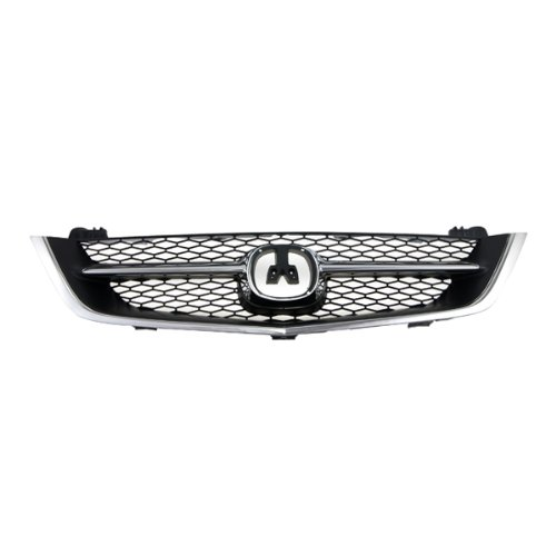 2003 Acura Tl Grille - CarPartsDepot 4D Grill Grille Assembly Front Chrome Black Ac1200107 Ac1200107