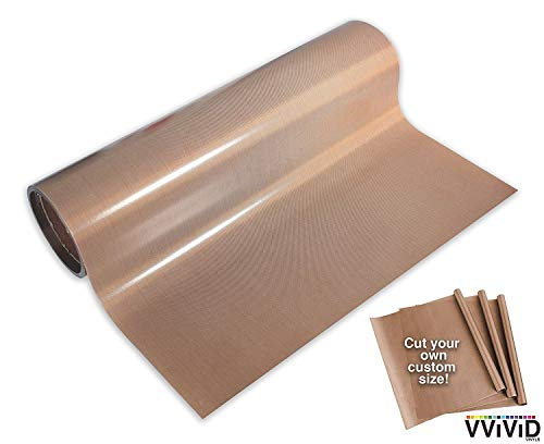 VViViD Teflon Coated Non-Stick Fibreglass Heat Transfer for sale  Delivered anywhere in Canada