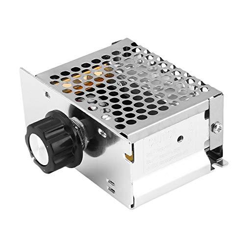 KEBIN 4000W 220V SCR r/égulateur de tension de commande du moteur R/égler la vitesse Variateur Thermostat