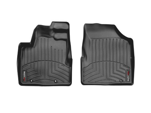 WeatherTech Custom Fit Front FloorLiner for Honda Ridgeline (Black)