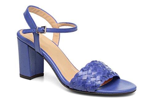 de Vestir Mujer Azul Sandalias de Piel Otra 11sunshop 5wUqSxPU