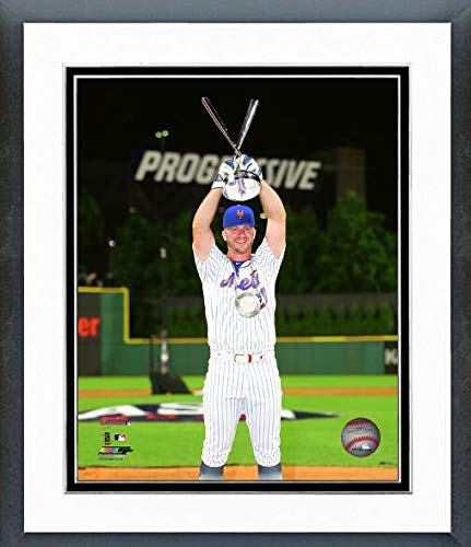 Pete Alonso New York Mets 2019 MLB Home Run Derby Trophy Photo (Size: 12.5