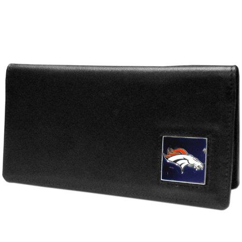 NFL Denver Broncos Leather Checkbook Cover by Siskiyou