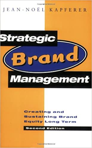 Strategic Brand Management Book
