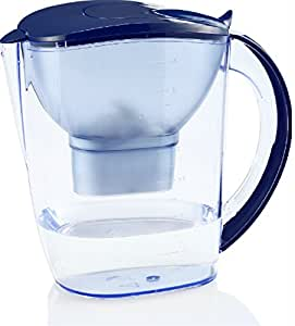 EHM ULTRA Premium Alkaline Water Pitcher - 3.5L Pure Healthy Water Ionizer With Activated Carbon Filter - Healthy, Clean & Toxin-Free Mineralized Alkaline Water In Minutes - PH 8.5 - 9.5 - 2017