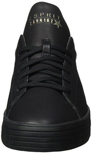 Esprit Sita Lace Up, Zapatillas para Mujer Negro (001 Black)