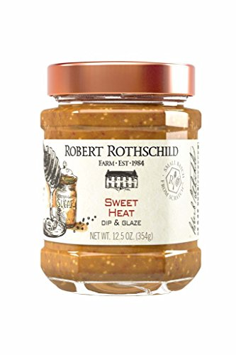 Robert Rothschild Farm Sweet Heat (12.5 oz) - Dip & Glaze - Poultry Baste - Pork and Chicken Glaze - Sandwich Condiment - Gluten Free, Kosher