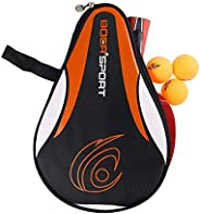 Coherny Portable Table Tennis Racket Bag Waterproof Table Tennis Racket Cover Paddle PingPong Paddle Pouch wit