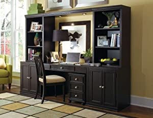 home office wall unit. modren unit camden black home office wall unit  american drew 919595 inside o