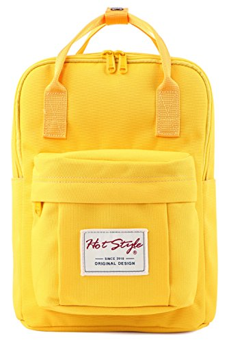 HotStyle Cute Mini Backpack Diaper Bag Small Travel Handbag - Yellow