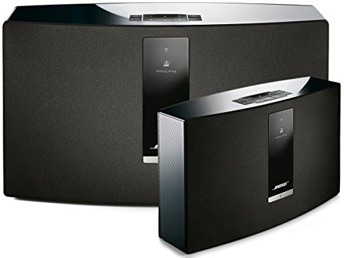 Bose SoundTouch 30 and 20 Wireless Music System Bundle 2-Pack Black