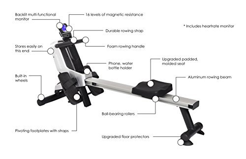 Stamina Multi-Level Magnetic Resistance Rowing Machine by Stamina (Image #1)