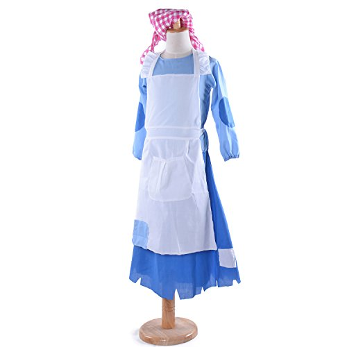 Girl Cosplay Costumes Village Princess Maid Dress Suit (XLarge)