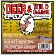 Manna Pro 095668758929 Deer and Wild Game Supplement Blocks, 20-Pound