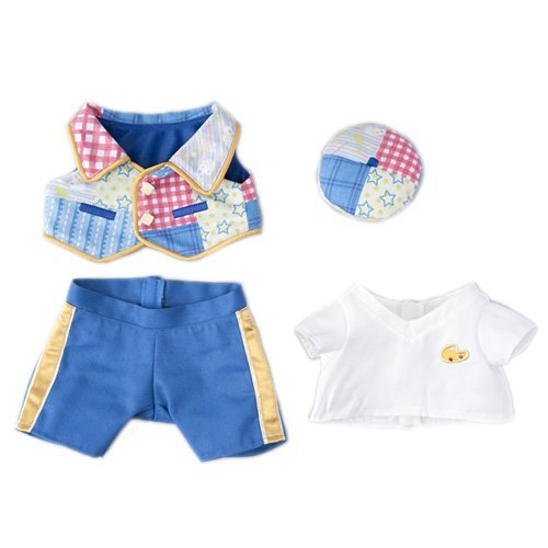 Disney Sea 15th anniversary Jeratoni Costume Set Wishing Together TDS15th S size for stuffed [Tokyo Disney Sea (Winnie The Pooh Vest Disney Costume)