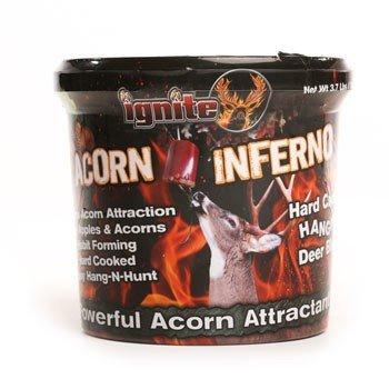 Ignite The Hunt Acorn Inferno Attractant, 3.75lb Hanging Block (1 Pack) (Acorn Block)